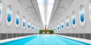 Luxury airliner hoax april fool